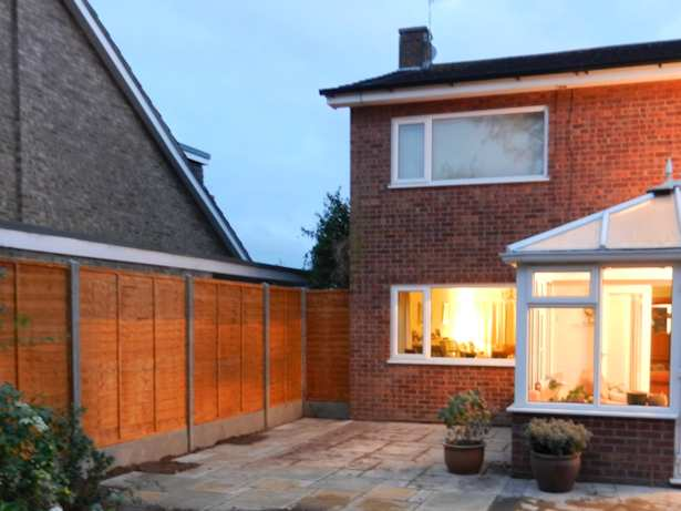 Case Study - Fencing and new Patio in Norwich