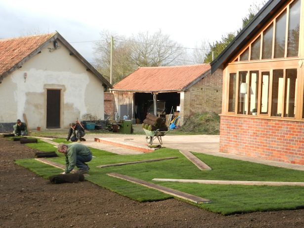 Case Study - New build site clearance and turfing